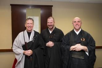 Ven. Xi-Ken Shi, Jin-Deng, Ven. D. Kengaku Zezulinski